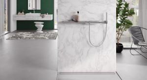 Odpływ zamiast brodzika - nowoczesne rozwiązanie w strefie prysznica