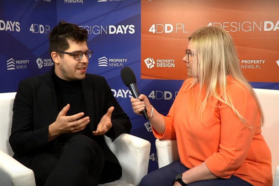 Mateusz Mastalski o zrównoważonym projektowaniu na 4 Design Days