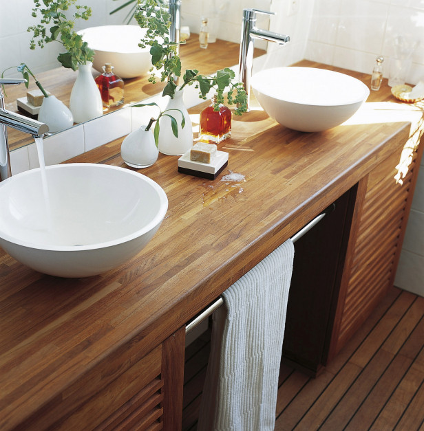 Drewno w łazience. Podstawą dobra impregnacja