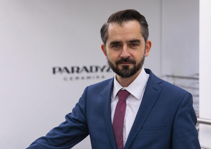 Jurand Brzeziński, Ceramika Paradyż: patrzymy na biznes w długiej perspektywie [WYWIAD]