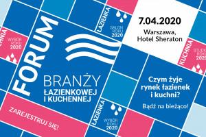 Trend Watch – Kuchnia i Łazienka! Ruszyła rejestracja na 7. Forum Branży Łazienkowej i Kuchennej