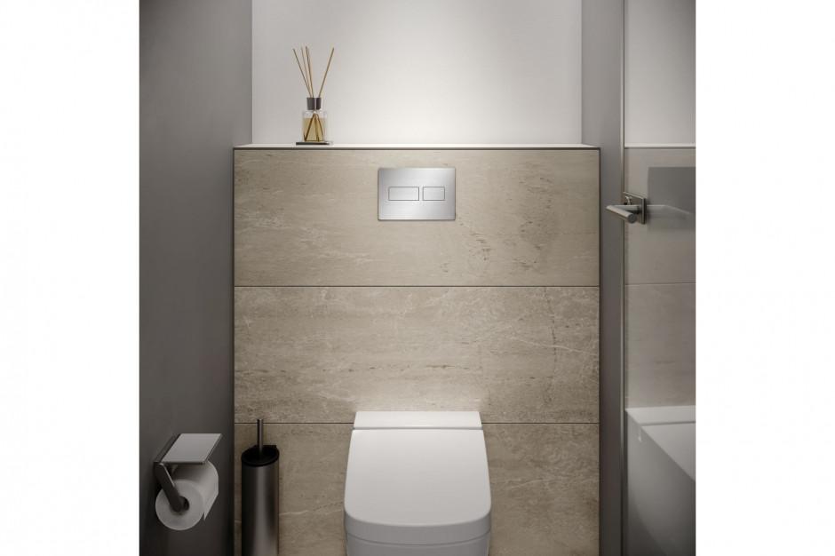 Seria przycisków spłukujących do WC i pisuaru TECEsolid/TECE