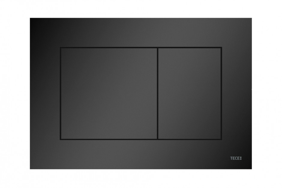 Przycisk spłukujący do WC TECEnow w wersji czarny matowy/TECE