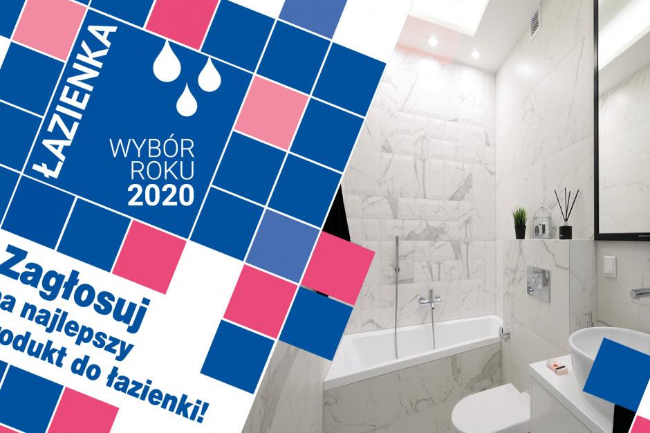 Zagłosuj na najlepszy produkt do łazienki 2020 roku! Głosowanie trwa do 26 marca