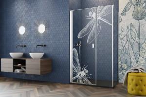 Sposoby na wiosenną łazienke - nowe grawery kabin