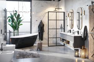 Kabiny i brodziki w modnej łazience. Gorące nowości Excellent