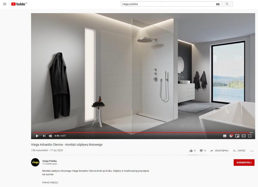 Viega Polska z własnym kanałem na YouTube